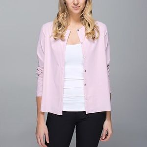Lululemon Athletica Light Pink Solo Shirt